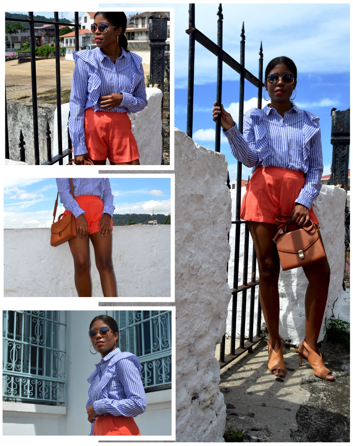 Tropical Edge - 2018 Trends - Ruffle tops collage